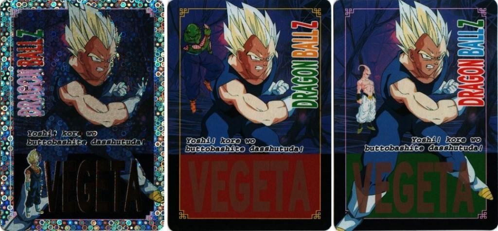 Hot Stamp Continue Vegeta