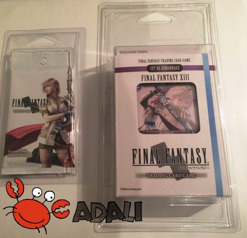 Le Starter deck Final Fantasy XIII