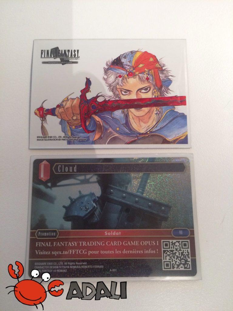 Carte promo A-001