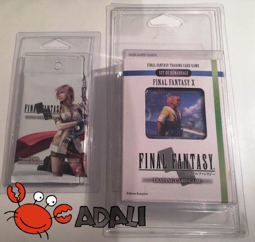 Le Starter deck Final Fantasy X